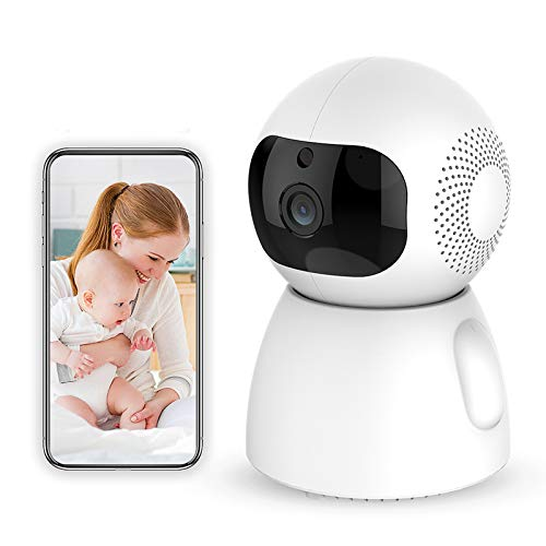 1080p HD Indoor Wireless Smart Home Camera with Night Vision 2-Way Audio Baby Monitor Home WiFi Security Camera Sound/Motion Detection Available Monitor Baby/Elder/Pet Compatible with iOS/Android