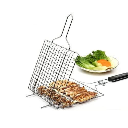 Barbacoa a la parrilla BARBACOA Tenedor de peces de carne de mango de madera neta aleación de aleación de aleación 322 (Type : Def)