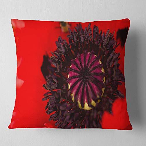 Design Art Throw Pillow, Polyester, 26' x 26'