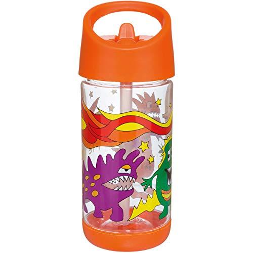 Meru Kinder Tritan Trinkflasche, Monster
