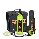 lululeague Scuba Sauerstoffflasche Tauchen, Diving Tank Ausrüstung, lL Mini Tauchflasche 15-20...