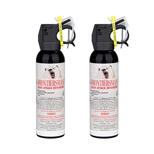 SABRE Frontiersman Bear Spray 7.9 oz (Holster Options & Multi-Pack Options) Maximum Strength &...