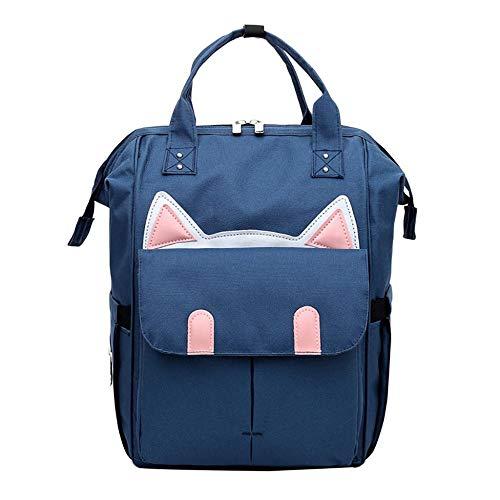 Backpack Bag Women Color Matching Wild Fashion Leisure Travel Bag Student Backpack School Bag For Teenager Shoulder Bag B