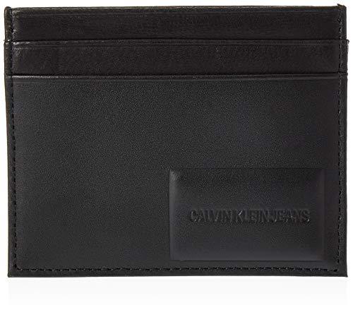 Calvin Klein Omega Cardcase - Borse a spalla Uomo, Nero (Black), 1x1x1 cm (W x H L)