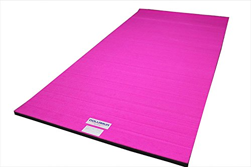 Dollamur 10'x5'x2 Flexi-Roll Carpeted Cheer/Gymnastics Mat