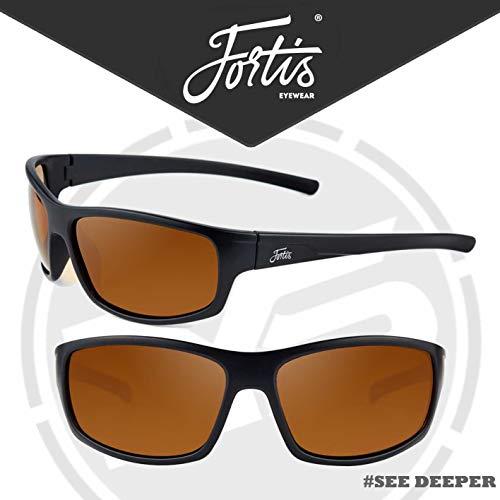 ambre marron Brand New Fortis Eyewear isolateurs Lunettes de soleil tous disponibles Commutateur