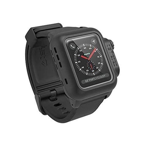 Catalyst - Custodia Impermeabile Antiurto per Apple Watch 38 mm Serie 3 (Nero Azione furtiva)