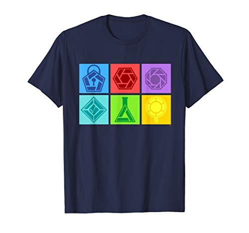 Odd Squad Box Icons Shirt