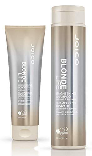 Joico Blonde Life Brightening Geschenkset - Shampoo 300ml + Conditioner 250ml