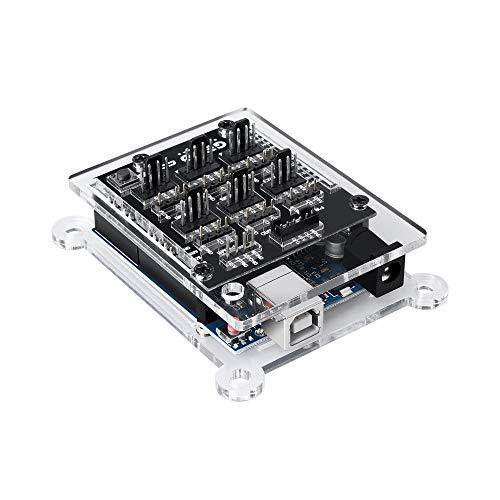 Gelid Solutions Kit de controlador ARGB Codi6 - 6 cabezales ARGB programables independientes - 6 cabezales PWM de control de ventilador - Código de código abierto