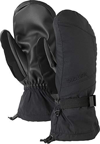 Burton Men's Insulated, Warm, and Waterproof Profile Mitten with Touchscreen, True Black, Medium