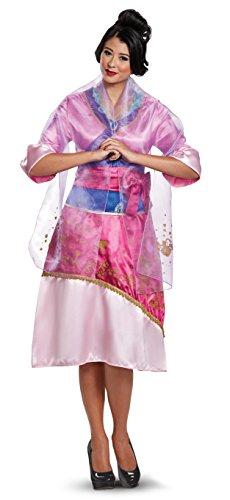 Disney Mulan Deluxe Womens Costume X-Large Pink