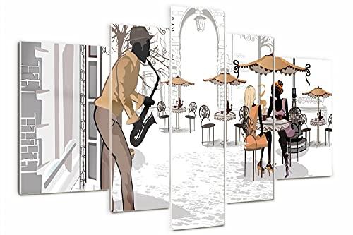 Tulup Cuadro de Cristal Pintura sobre Vidrio 170x100cm Imagen Gráfica Impresión de...