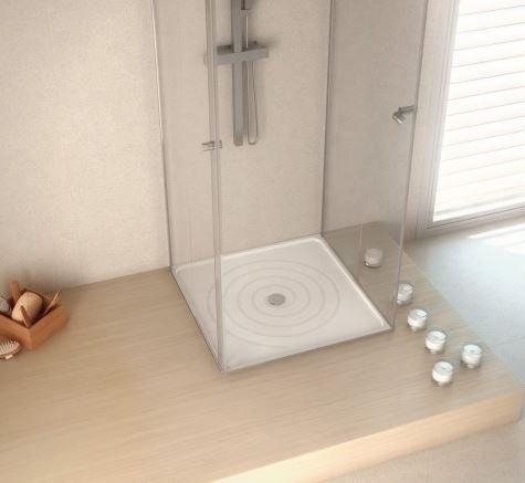 Piatto doccia-Ducale Silestone, 120 x 90 cm, Blanco Zeus, lucido da setkom Gmbh