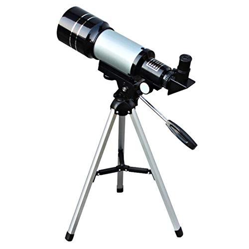 Telescopio astronómico, telescopio de visión nocturna HD, espacio profundo de refracción de 150X, telescopio de observación de la luna, telescopio astronómico 30070