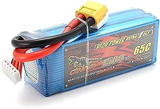 KINGDUO Dinogy Energe Géant Batterie 1500mAh 4S de 14.8V 65C Lipo pour Multicoptères Avion RC