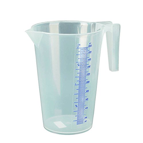 Pressol Messbecher Polypropylen transparent 2,0 Liter