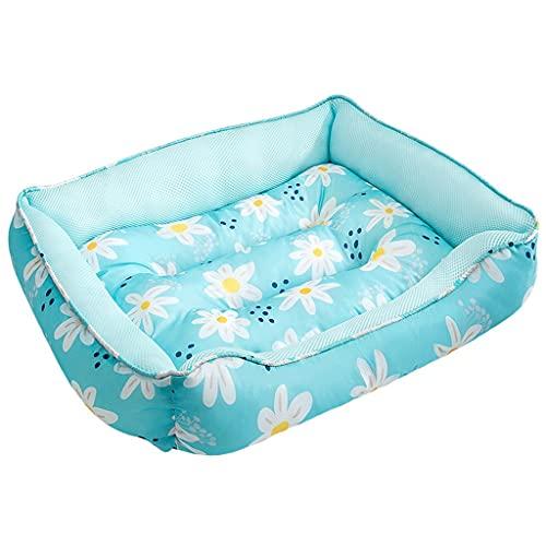 Flashing Alfombrilla para perros, cama de verano refrescante para perros, gatos, manta, cama impermeable para mascotas, colchón lavable, alfombrilla para mascotas, perrera transpirable para mascotas
