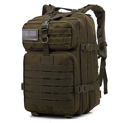Roquorl 50 litros de gran capacidad de los hombres militar táctica mochila militar asalto bolsa al aire libre 3P senderismo camping caza bolsa
