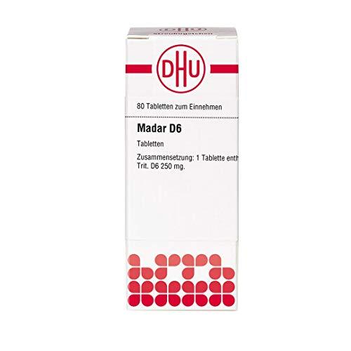 DHU Madar D6 Tabletten, 80 St. Tabletten