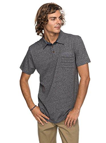 Quiksilver - Camiseta Polo - Hombre - L - Negro