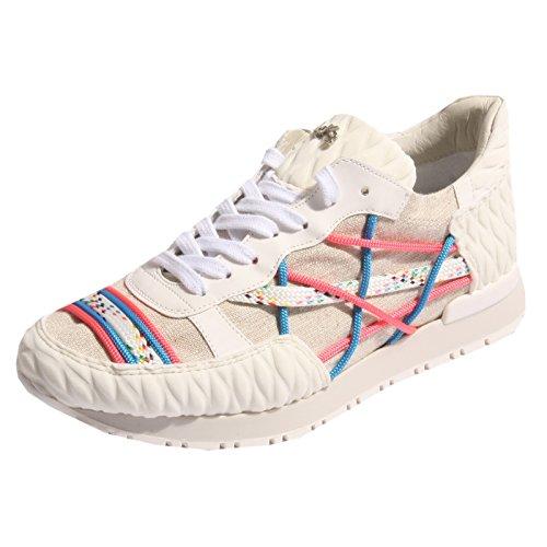 L4K3 B0379 Sneaker Donna MR Big Scarpa Multicolore Shoe Woman [35]
