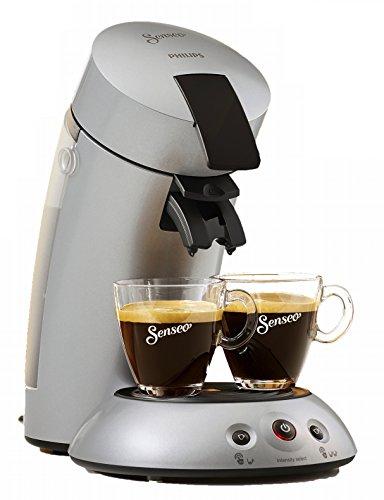 Senseo HD6556/59 Vollautomatische Kaffeepadmaschine 0,7 L, 4 Tassen, 1.450 W, Silber