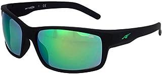 d2a294b88e Arnette 0AN4202 447/3R 62 gafas de sol, Negro (Fuzzy  Black/Lightgreenmirrorgreen