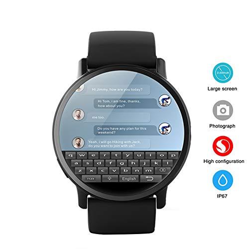 Smart Watch Android 7.1 Met GPS Sim-kaart WIFI 2.03 Inch-scherm 900Mah Batterij 8MP Camera Hartslag Smartwatch voor Heren Dames Sport Zakelijke band