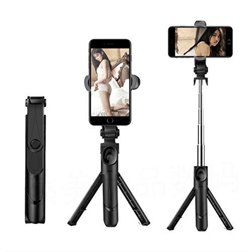 CGY Telefoon Statief Aluminium Statief Telefoon Houder Bevestiging Bluetooth Afstandsbediening Shutter Bag Compatibel voor iPhone XR/Xs Max/X 8/7/6 Samsung Note 9 Stabilizer Meer Camera&Cellphone
