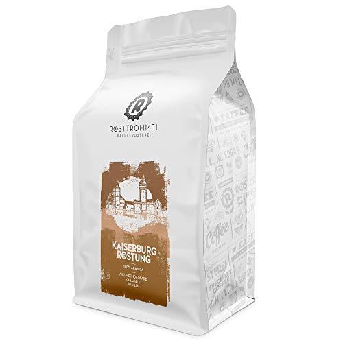 Kaffeebohnen KAISERBURG - Kakaonote - handgeröstet - ideal für Vollautomat, French-Press & Filterkaffee