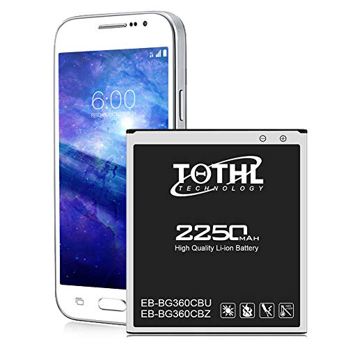 Battery for Galaxy Core Prime, TQTHL 2250mAh Li-ion Replacement...