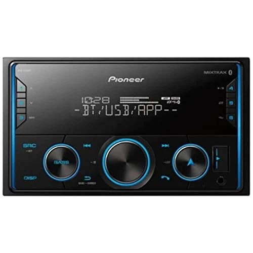 Pioneer MVH-S420BT Single Din Bluetooth Digital Media Receiver with Short Chassis, Supports Amazon Alexa…