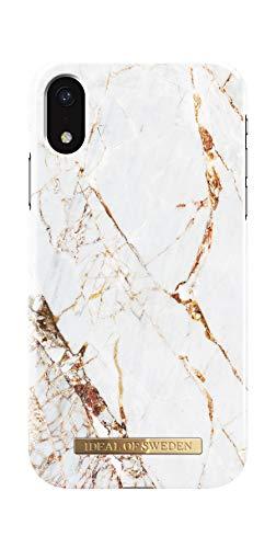 iDeal Of Sweden Handyhülle für iPhone XR (Carrara Gold)
