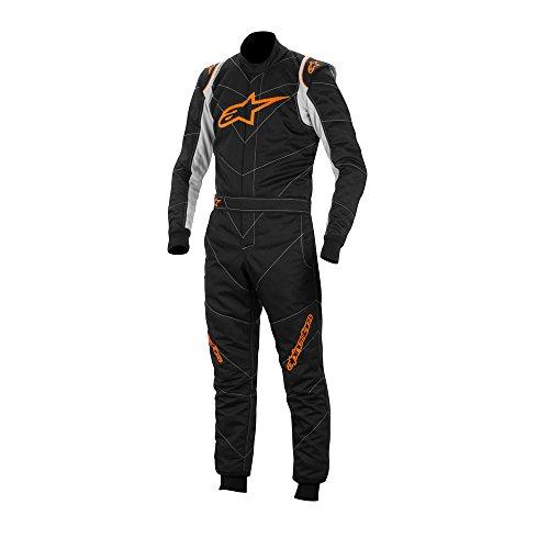 Mono Alpinestars GP Race negro/naranja t50