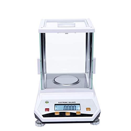 LYC Balanza Científica Analítica de Laboratorio de Gama Grande Báscula Electrónica Digital Inteligente de Alta Precisión de 0.001g Cocina Báscula Escala de la joyería d (Size : 300g*0.001g)