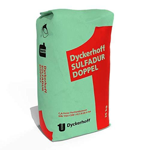 Dyckerhoff Sulfadur-Zement 25 kg - Festigkeitsklasse 42,5 - für hoher Sulfatwiderstand