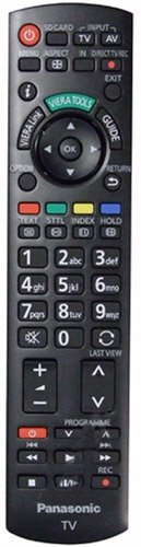 Original N2QAYB000487 sub N2QAYB000490 sub N2QAYB000354 Fernbedienung für Panasonic TX-P42S21B TX-P42S21BA TX-P42U20B TX-P42U20E TX-P42U30 LED LCD Veria TV