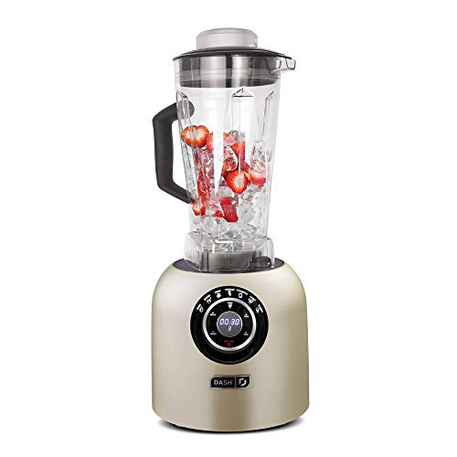 Dash Chef Series 64 oz Blender with with Stainless Steel Blades + Digital Display for Coffee Drinks,...