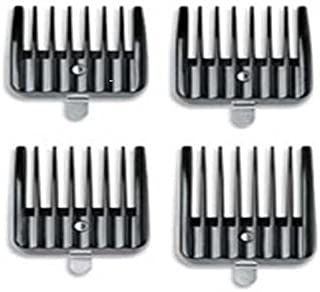 Andis Attachment Set 4 Snap On Combs #04640 Fits Outliner Ii Square Blade Only