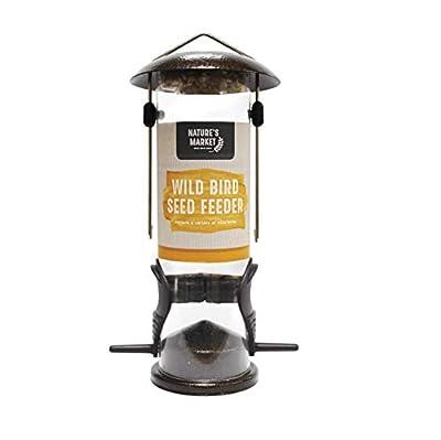 Kingfisher Premium Hammertone Finish Bird Seed Feeder from King Fisher