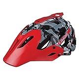 Limar Casco de Ciclismo para Adulto 949dr, Camo Black/Red, L, dc949dr.CE.05