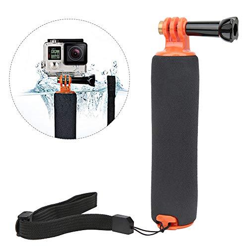 Topiky Selfiestick drijvende handgreep, waterdicht onderwater duiken, handheld selfiestick rod pole fotografie accessoires voor surfen, kajakken, watersport voor GOPRO Hero 5/4/3 +/3 camera, oranje