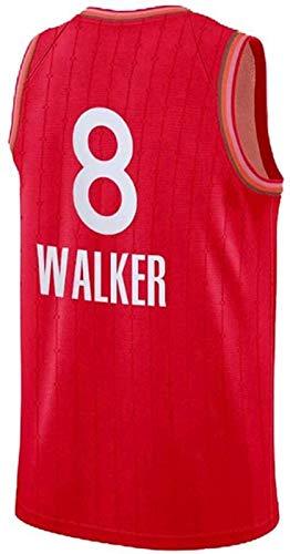 Ropa de baloncesto de los hombres, Celtics de Boston # 8 Kemba Walker Swingman Nba Jersey, deportes al aire libre Uniformes de baloncesto Camiseta sin mangas Camiseta deportiva Chaleco superior,2,L
