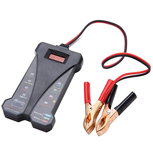 Great Features Of Z.L.FFLZ Auto Tester 12V Automotive Motorcycle Car Battery Tester LCD Digital Test...