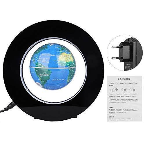 Fdit Globo Flotante de levitación, Novedad Globo Flotante de levitación magnética Redonda electrónica con Pantalla LED para Oficina en casa(EU-2#)