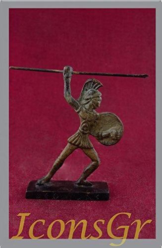 IconsGr Griego Antiguo Bronce Museo Estatua réplica de leónidas Rey de Esparta (1150)