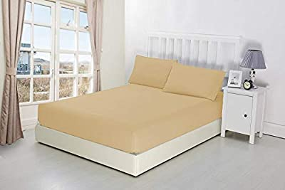 """NIYS Luxury Bedding Finest 100% Egyptian Cotton 9""""/23CM Fitted Sheets in 15 Colours by Sultan Textiles Limited"""