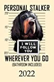 2022: Calendar Funny Gordon Setter Dog Monthly Weekly Daily Planner   Cute Gordon Setter Dogs Planner   Dated Week Day Month Calendar 2022 With US ... Family Work & Sports   140 Sites   6x9   Gift
