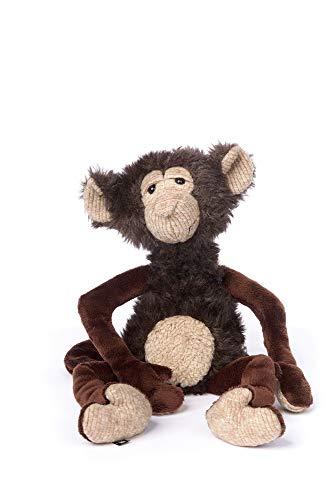 sigikid BEASTS, Kuscheltier für Erwachsene und Kinder, Affe, Uncle Jungle, Beasts Town, Braun, 35x12x10 cm, 39132